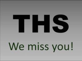 THS Staff Video - We Miss Our Students!