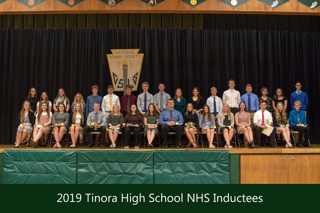 2019 NHS Inductees